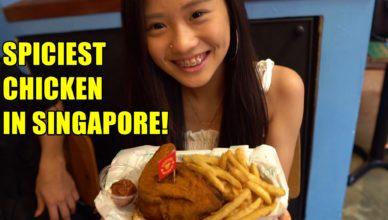 Spiciest Chicken In Singapore